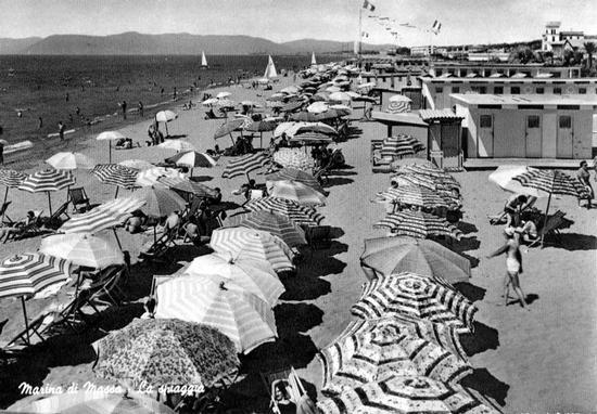 anni 60 ..... - Marina di massa (6617 clic)
