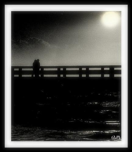 ..luna piena.... - Marina di massa (2781 clic)