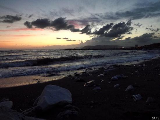 tramonti settembrini.... - Marina di massa (686 clic)