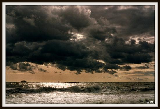 ...tra cielo e mare... - Marina di massa (686 clic)