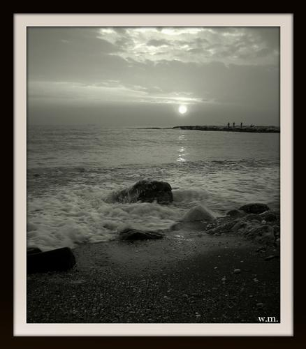tramonto in b\n. - Marina di massa (942 clic)