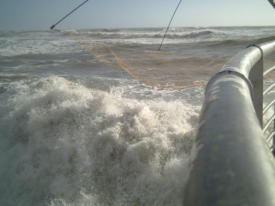 mare mosso...oggi non si pesca.. - Marina di massa (2057 clic)