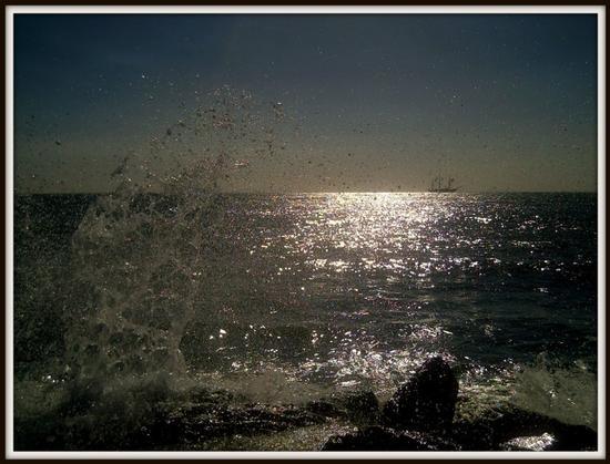la vespucci all'orizzonte - Marina di massa (1448 clic)