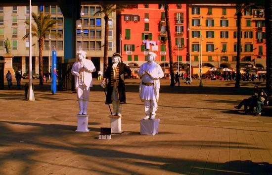 statue viventi... - Genova (3335 clic)