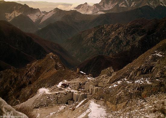 le cave di marmo... - Alpi apuane (2234 clic)