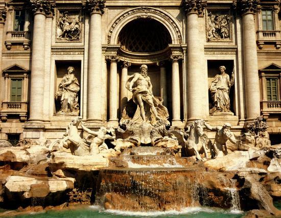 fontana di trevi - Roma (1684 clic)