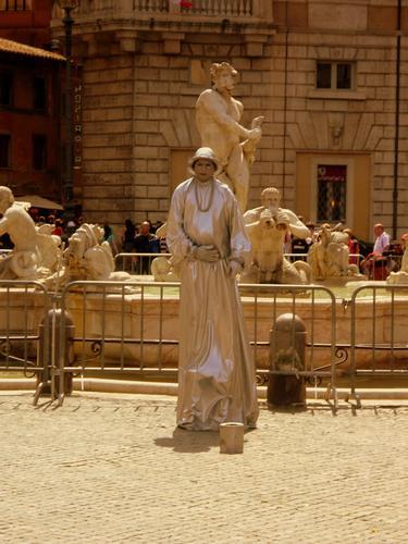 ..statua vivente.. - Roma (1839 clic)