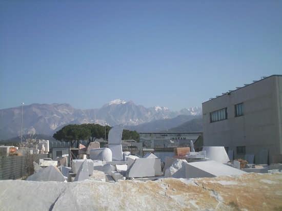 marmo bianco .... - Carrara (2525 clic)