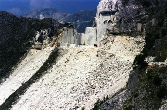 il monte tagliato - Carrara (3040 clic)
