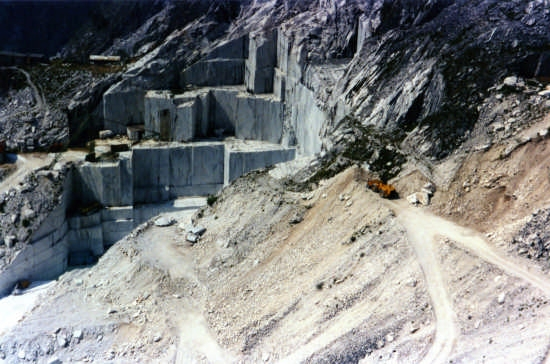 cava di marmo - Carrara (4643 clic)