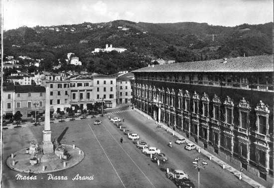 cartolina anni 60 - Massa (3616 clic)