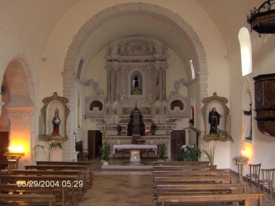 Santo Antonio da Padova ( interni ) - Ploaghe (2384 clic)