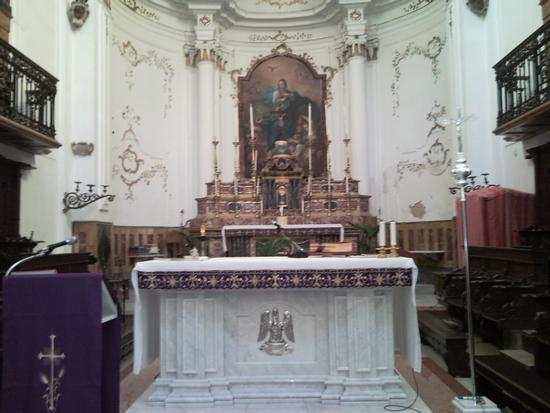 bisacquino altare maggiore chiesa madre (1848 clic)