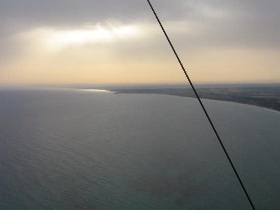 Tramonto a Portopalo, sempre in deltaplano - Montevago (3043 clic)