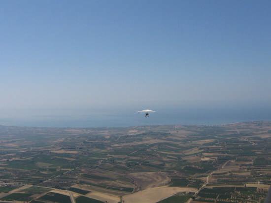 sullo sfondo Porto Palo, foto scattata dal bosco Magaggiaro - Montevago (3461 clic)