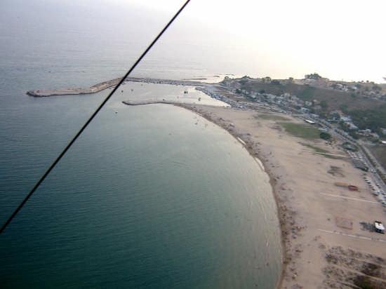 veduta aerea del porto di portopalo ( Menfi ) - Montevago (5177 clic)