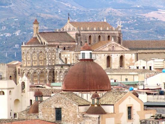 veduta della cattedrale di monreale (6416 clic)