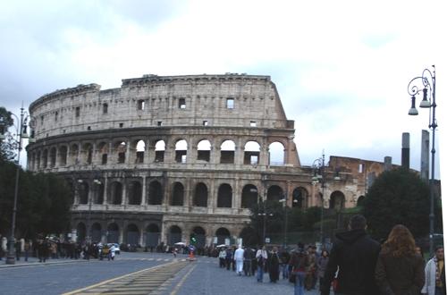 il colosseo - Roma (2193 clic)