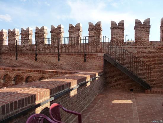 torre dell'orologio cammino di ronda - Noale (1391 clic)