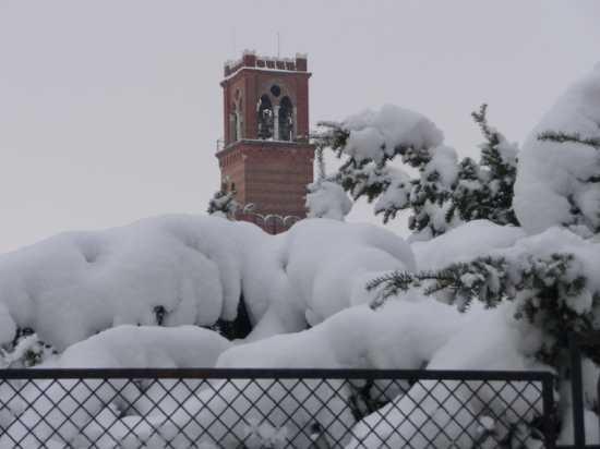 Noale e la neve (2412 clic)
