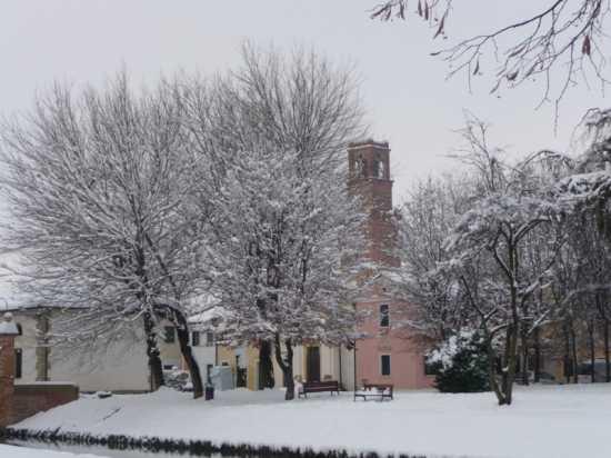 Noale e la neve (3036 clic)