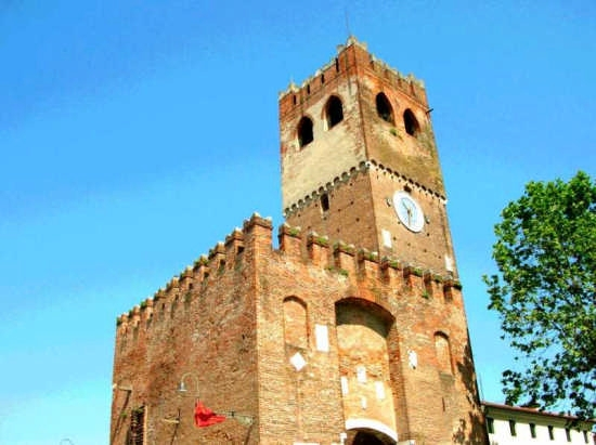 torre trevigiana detta dell'orologio - Noale (3251 clic)