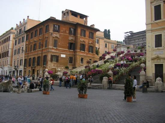 PIAZZA DI SPAGNA - Roma (1996 clic)