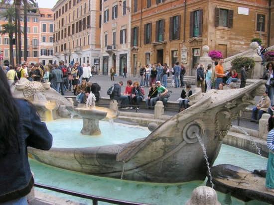 PIAZZA DI SPAGNA - Roma (2138 clic)