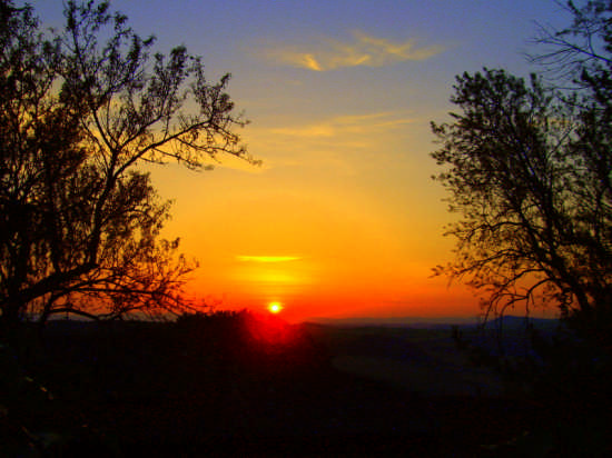 TRAMONTO - Val d'orcia (3275 clic)