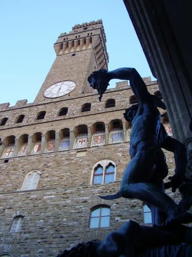 Piazza della Signoria - FIRENZE - inserita il 13-Jun-07
