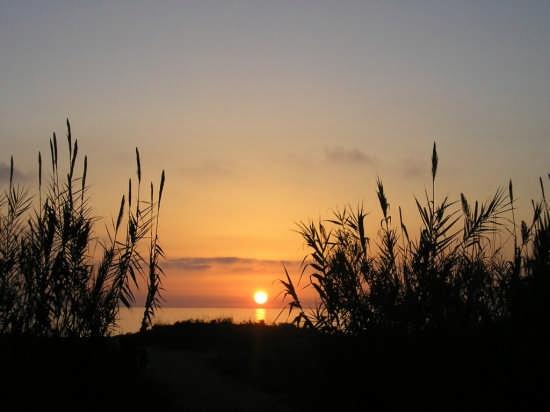 tramonto sul mare - Ascea (5409 clic)