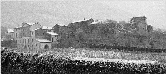 nevica sul borgo... - San germano dei berici (999 clic)