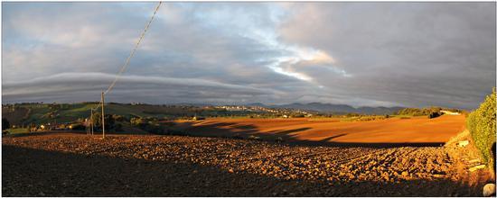 ombre lughe d'autunno a mattina  - Appignano (1100 clic)