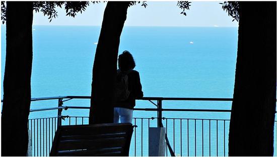 sognando  in turchese .. - Sirolo (1069 clic)