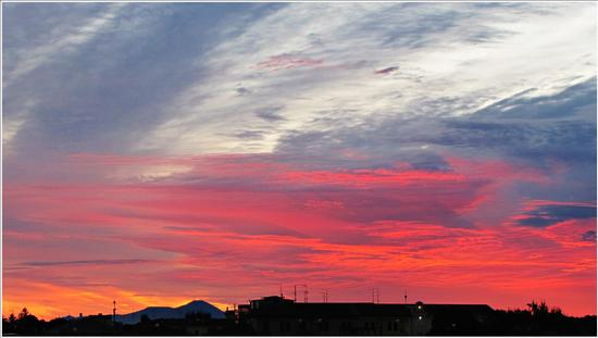 alba verso gli Euganei.. - Legnago (728 clic)