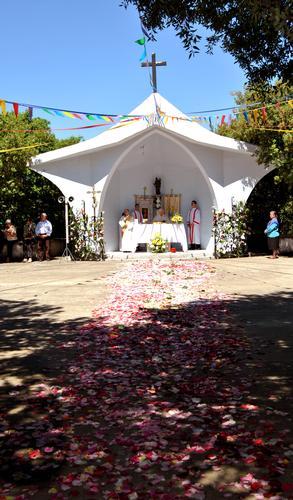 Petali fino alla chiesetta di Santa Barbara - Perdasdefogu (2889 clic)