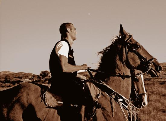 La luna e i cavalieri - Dolianova (2241 clic)