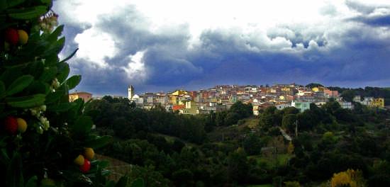 Sotto la pioggia - Perdasdefogu (3250 clic)