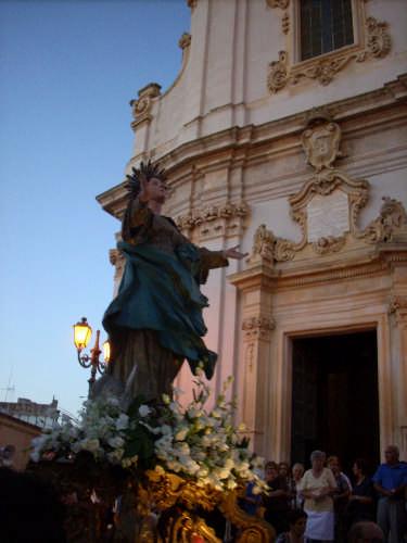 processione  dell'Assunta - Presicce (3115 clic)