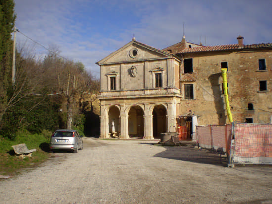 Montepulciano Chiesa Madonna delle Grazie (3326 clic)
