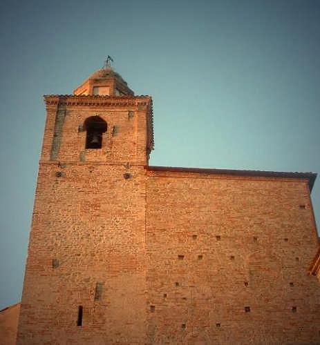 Ortezzano, le luci dell'alba, Chiesa d. Girolamo XVIII sec - ORTEZZANO - inserita il 10-Apr-09