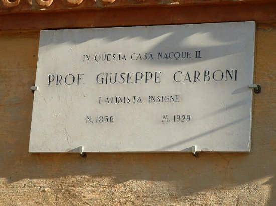 Ortezzano, Casa natale del prof. Giuseppe Carboni (2540 clic)