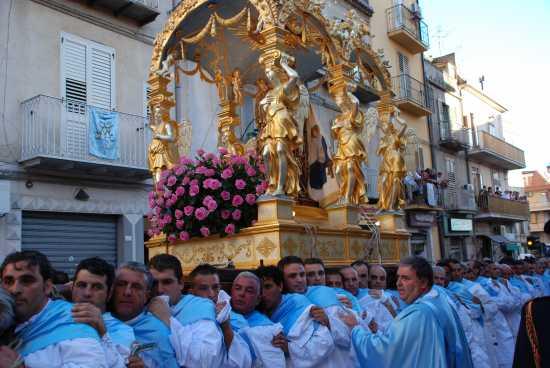 festa della madonna - Enna (5050 clic)