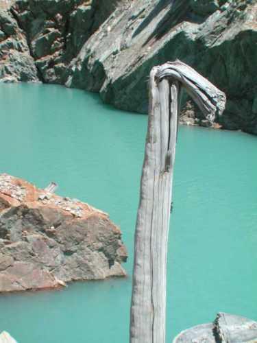 Lago di la Place Moulin: particolare - Bionaz (2565 clic)
