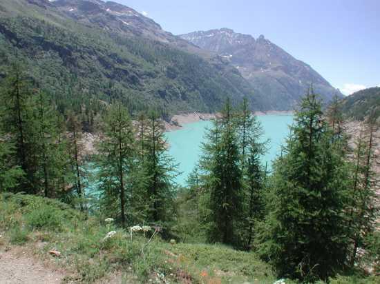 Lago di la Place Moulin paorama - Bionaz (3569 clic)