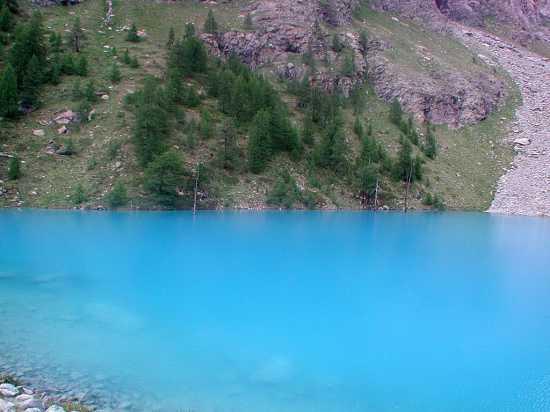 Champolouc - St jacques: lago blu - Champoluc (7389 clic)