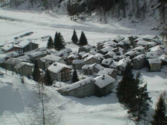 Tetti di inverno - Piamprato (3218 clic)