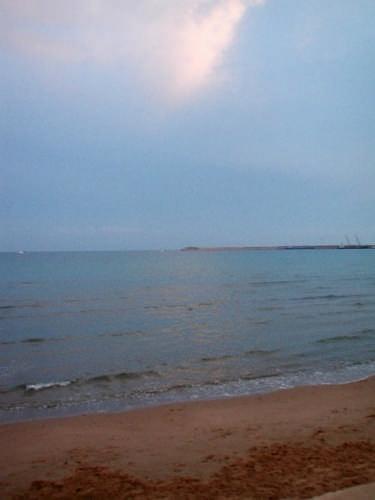 Pozzallo: spiaggia di Raganzino all'imbrunire (4918 clic)