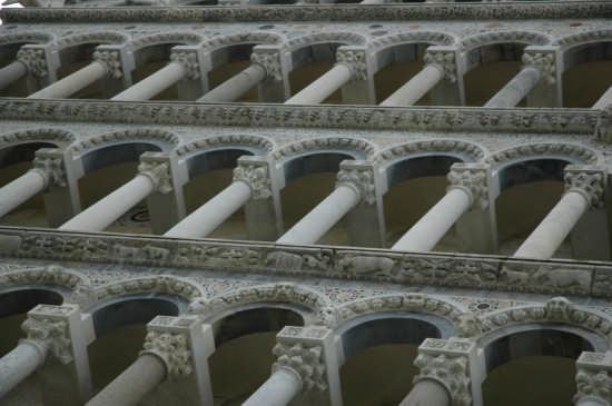 Duomo:fronte principale, gallerie - Pisa (1796 clic)