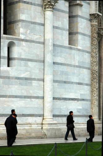 Battistero:turisti - Pisa (1457 clic)